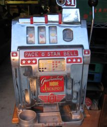 One Dollar Pace Antique Slot Machine