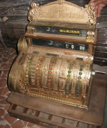 Antique National Cash Register Model no. 442