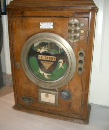 Le Derby French Gambling Machine 1920's