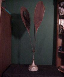 Vintage Saloon Cast Iron Fly Fan