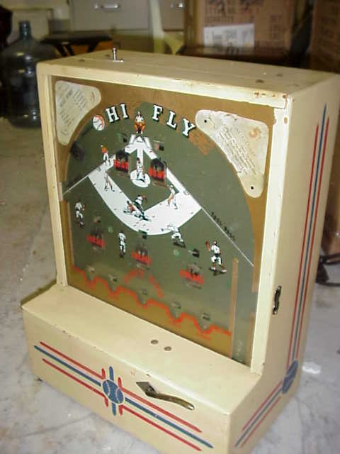 High Fly Baseball Counter Game Machine Gameroom Show