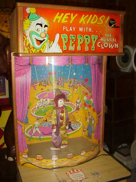 Peppy The Clown The Musical Dancing Clown Gameroom Show