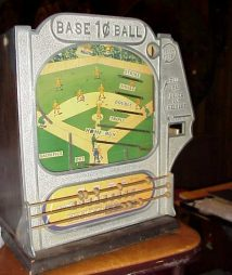 Atlas Baseball Skill Game Coin Op Trade Stimulator