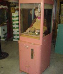 Mike Munves Fortune Teller Machine 1930's