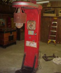 Mutoscope Punching Bag