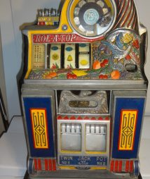 "25 Cent Watling Rol-A-Top ""Bird Of Paradise"" Slot Machine"