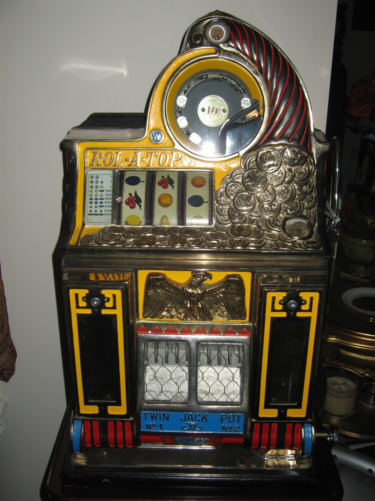 Watling Rol A Top Twin Jackpot Slot Machine With Mint