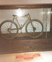 Sun Waddel Mfg. Co. 5-cent Bicycle Trade Stimulator c1896