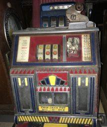 Watling Baby Twin Jackpot Torch Vendor Front Slot Machine