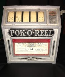 Pok-O-Reel Trade Stimulator 1930s Amusement