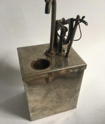 SALESMAN SAMPLE OIL TANK Dispenser Stainless Steel