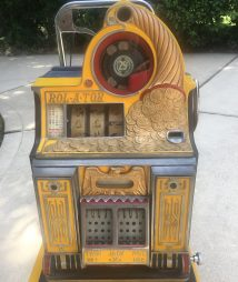 25 cent Watling ROL-A-TOR Slot Machine Rare