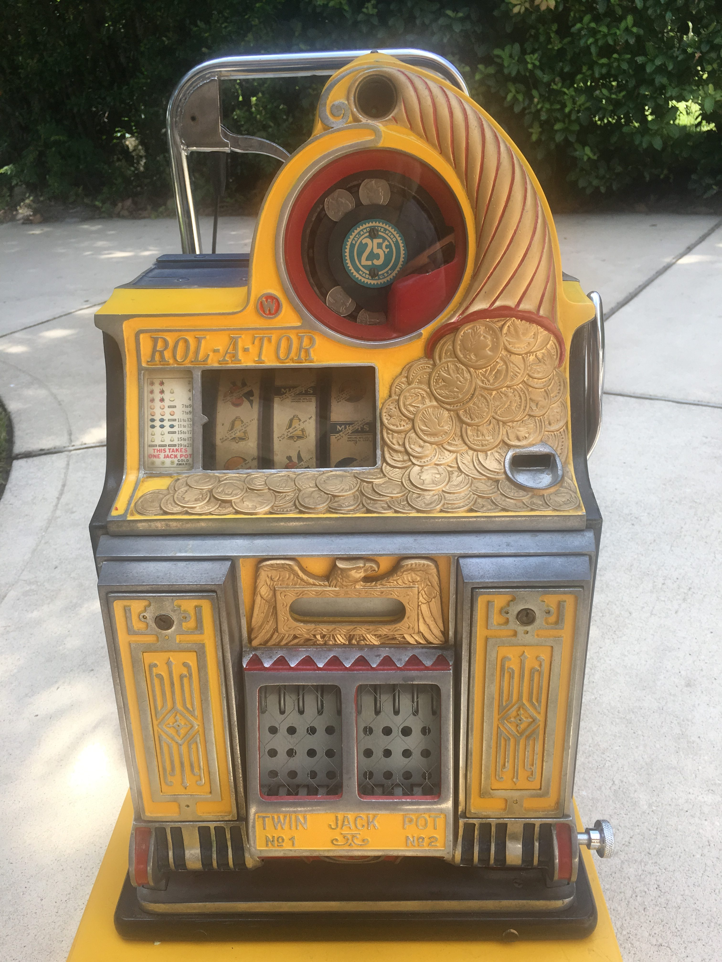 Spielautomat european gold