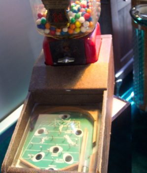 Football Gum Machine