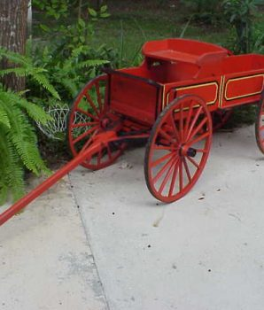 Goat Wagon Child's County Wagon