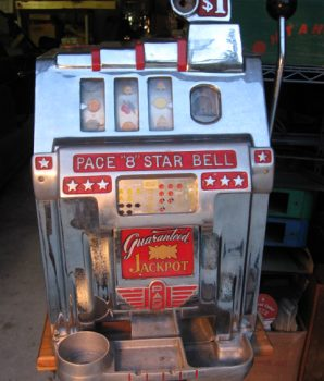 One Dollar Pace Antique Slot Machine