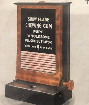 Rare Clawson Vending Machine Flyer c1917