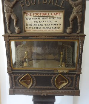 The Football Game Coin Operated Machine
