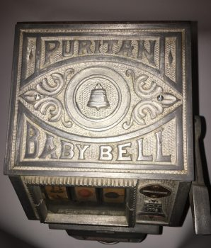 Puritan Baby Bell 5 Cent Trade Stimulator w/ Jackpot