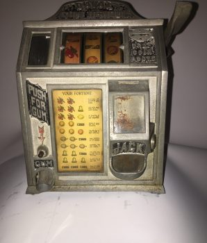 Daval Gum Vendor Trade Stimulator w/ Jackpot front
