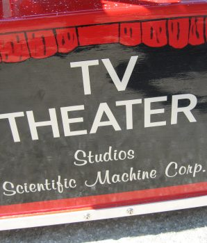 TV Director Ride by Scientific Machine Corp in Mint Condition Circa 1953