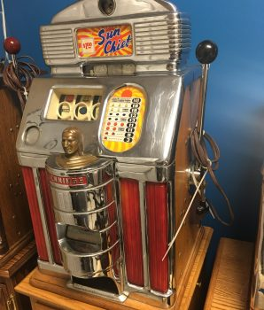 JENNINGS SUN CHIEF RARE DOLLAR SLOT MACHINE ORIGINAL