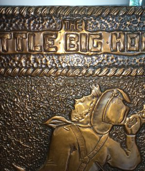 Little Big Horn Presentation Plaque, c1951 Autographed Authentic