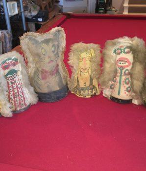 Carnival knock down punk doll Coney Island