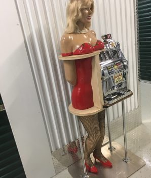 Dollar Pace Star Bell Cocktail Waitress Slot Machine