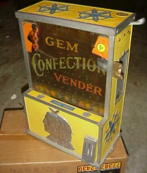 Rare Gem Confection Vender
