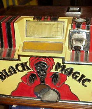 Rock-ola Black Magic Dice Machine