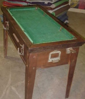Pool Table 1930's – 40's Coin Operated