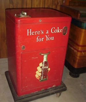 Original 1940's Coke Machine