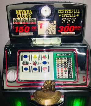 Dollar Jennings Reno Nevada Club Slot Machine